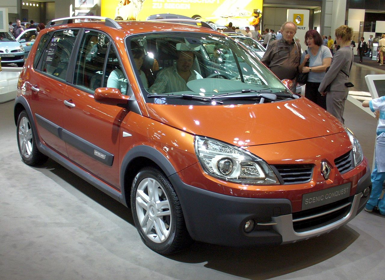 file renault scenic wikimedia commons. Black Bedroom Furniture Sets. Home Design Ideas
