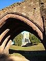 Renslade House through an arch of Exe Bridge - geograph.org.uk - 253267.jpg