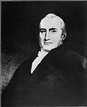 Stephen Bloomer Balch - Portrait by Charles Willson Peale, engraving by John Sartain