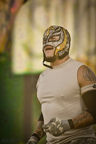 AAA Hall of Fame - Image: Rey Mysterio Tribute To The Troops