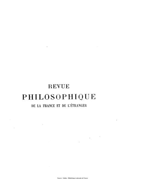 File:Ribot - Revue philosophique de la France et de l'étranger, tome 11.djvu