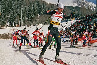 Ricco Groß - Ricco Groß in Antholz-Anterselva in 2006.