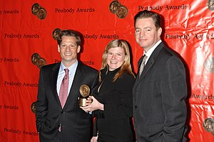 Richard Engel - Richard Engel, Madeleine Haeringer and Bredun Edwards for Tip of the Spear at the 68th Annual Peabody Awards