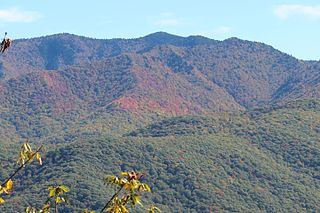 Richland Balsam Mountain in the US State of North Carolina