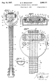Ef B E F F Fb C in addition Da F F E Deae Bb E additionally Da A E D Ccb Cb Ea furthermore S P I W additionally Px Rickenbackerfryingpanpatentdiagram. on wiring an electric cigar box guitar