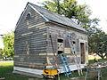 Ridgely Telephone Exchange, under restoration (21591526272).jpg