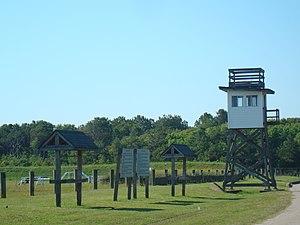 Camp Pendleton (Virginia) - Rifle range tower at Camp Pendleton