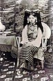 Rinchen Dolma Taring (aka Mary Tsarong) with headdress in 1921 (cropped).jpg
