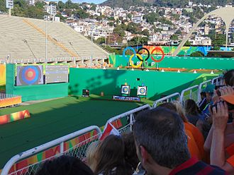 Bhutan at the 2016 Summer Olympics - The Sambódromo, where Karma competed in Archery events.