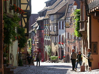 Les Plus Beaux Villages de France - Riquewihr in Alsace