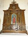 Riville (Seine-Mar.) église, autel (02) lateral avec statue.jpg