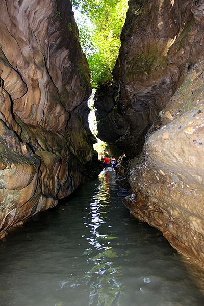 File:Robber's Cave Dehradun.jpg