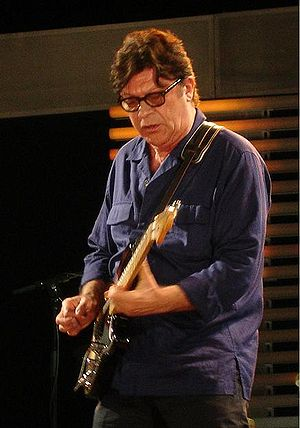 Robbie Robertson - Robertson performing at the Crossroads Guitar Festival in 2007