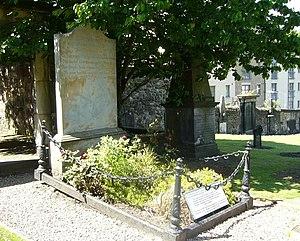 Robert Fergusson's Grave
