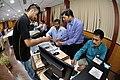 Robot Building Session - Workshop on Organising Indian and World Robot Olympiad - NCSM - Kolkata 2016-03-08 2325.JPG