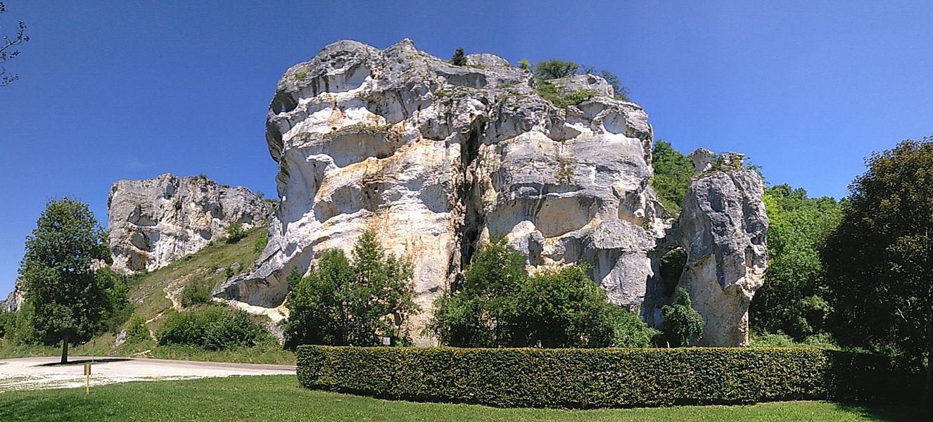 TRochers du Saussois, Merry sur Yonne, Yonne, Bourgogne, France