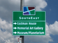 Rochester downtown orientation sign.png