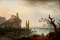 Rocky Coastline with Castle-Jean Joseph Xavier Bidauld.jpg