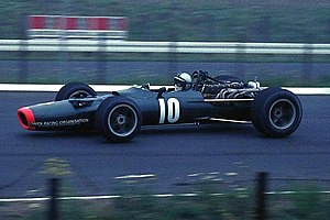 Pedro Rodríguez (racing driver) - Rodríguez in his BRM P133 during the 1968 German Grand Prix.