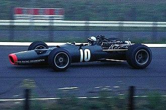 1968 German Grand Prix - Pedro Rodriguez in a BRM P133