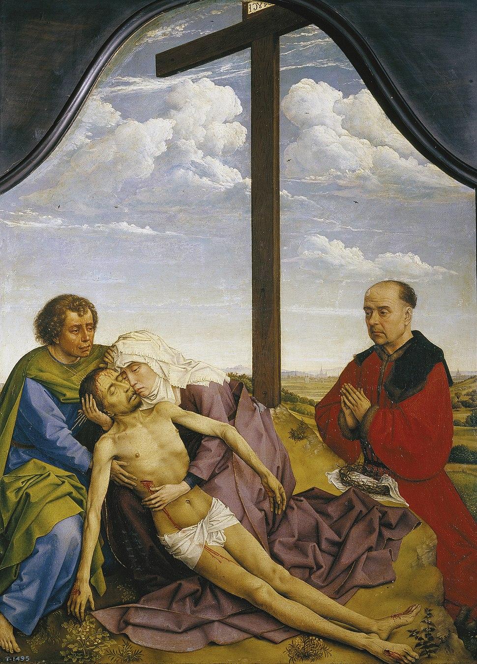 Lamento pola morte de Cristo, ca. 1456-59, Museo do Prado, Madrid
