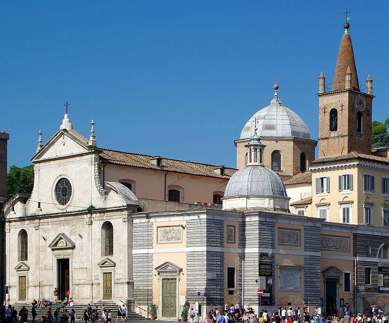 Roma, basilica di Santa Maria del Popolo - Esterno.jpg