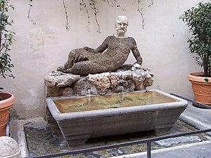 Babuino - Il Babuino in 2007: all the graffiti has been removed.