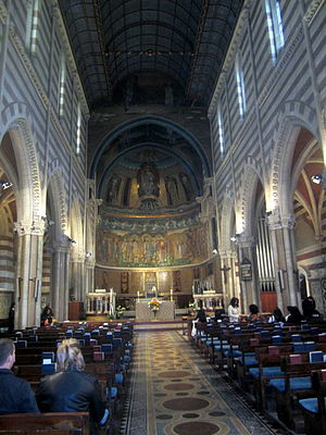 St Paul's Within the Walls - Interior, looking towards the apse