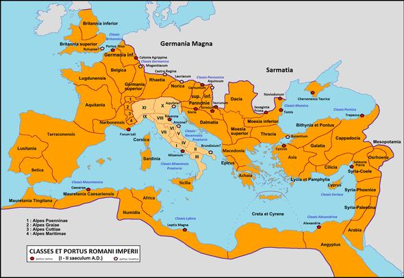 Cartina Italia Romana.Italia Romana Wikipedia