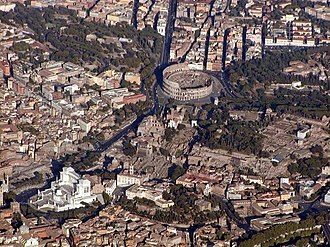 Caput Mundi - Image: Rome airal picture