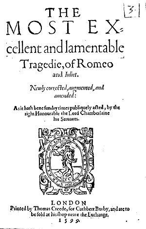 сочинение по рассказу шекспира ромео и джульета