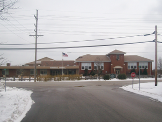Rondout School District 72 - Rondout School, the lone school in the district.
