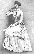 Rosalía ós vinte anos, posiblemente en Madrid en 1856-57.jpg