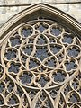 Rose window in the west facade of Exeter Cathedral - geograph.org.uk - 1287364.jpg