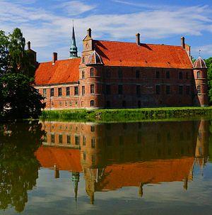 Rosenholm Municipality - Rosenholm Castle in Rosenholm Municipality, Denmark.