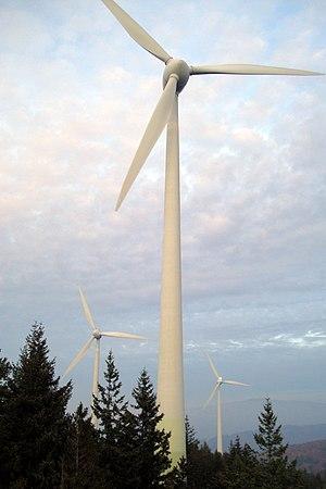 Rosskopf (Freiburg), Windräder vom Aussichtsturm