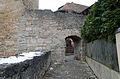Rothenburg ob der Tauber, Stadtbefestigung, Mauer östlich Kobolzeller Tor, 003.jpg