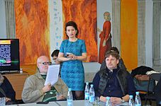 Round Table about Contemporary Art in Minsk Center Contemporary of Arts 17.03.2015 06.JPG