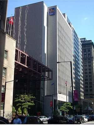 Royal Bank Building (Toronto) - The 1964 building