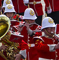 Royal Gibraltar Regiment, Changing the Guard, Band, April 12.jpg