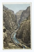 Royal Gorge from top looking down, Royal Gorge, Colo (NYPL b12647398-69855).tiff
