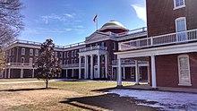 Ruffner Hall at Longwood University in Farmville.