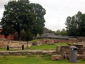 St. Mary's Church, Oslo - Ruins of St. Mary's Church at Middelalderparken in Oslo