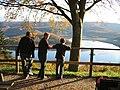 """Rursee im Herbst, aufgenommen vor der """"schönen Aussicht"""" in Schmidt.jpg"""
