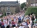 Rushcart arrives in Dobcross - geograph.org.uk - 933955.jpg