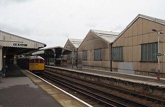 Ryde St John's Road railway station - Image: Ryde St John's Road railway station