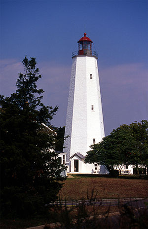 Sandy Hook Lighthouse, Sandy Hook, NJ