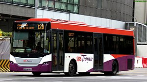 SBS Transit - Image: SBS8690G on 128