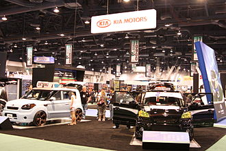 Kia Soul - Kia Soul exhibit at the 2009 SEMA auto show in Las Vegas.