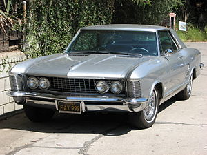 Bill Mitchell (automobile designer) - The 1963 Buick Riviera was one of the famous designs during Mitchell's tenure as Chief of styling at GM.
